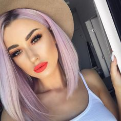 """16.7k Likes, 141 Comments - Katie Mulcahy (@lolaliner) on Instagram: """"Hi! New hair video on my channel 💁🏼🤷🏼♀️ Link in my bio. • Lips @colouredraine Daddys girl…"""""""