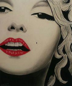 Marilyn pastel