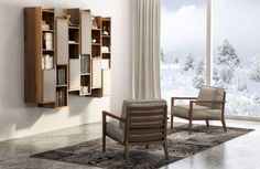 Huppe Furniture - Italian chairs, upholstered and finished in Canada. Home Office Furniture, Outdoor Furniture Sets, Furniture Design, Contemporary Furniture, Contemporary Design, Furniture Manufacturers, Living Spaces, Living Room, Modern Interior Design