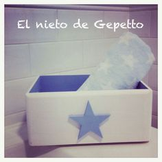 Cajita estrella azul #elnietodeGepetto