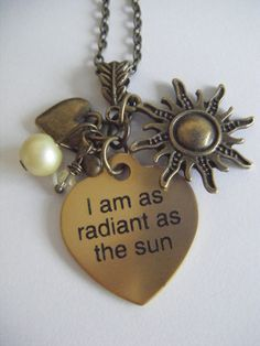 Hunger Games Katniss Radiant As The Sun Necklace.