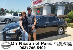 https://flic.kr/p/K4S51Q | Happy Anniversary to Wayne And SHIRLEY  from Mary Vincil at Orr Nissan of Paris! | deliverymaxx.com/DealerReviews.aspx?DealerCode=J476