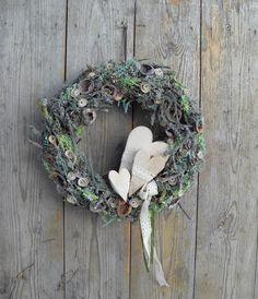 Az erdő szerelmese - ajtódísz, Dekoráció, Otthon, lakberendezés, Meska