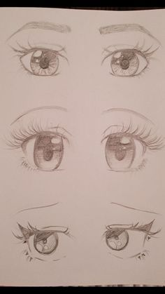 Anime Eyes Anime - Style de tatouage - Best Picture For Tattoo Style blac Anime Drawings Sketches, Pencil Art Drawings, Anime Sketch, Manga Drawing, Cute Drawings, Manga Art, Hipster Drawings, Pencil Sketching, Drawing Faces