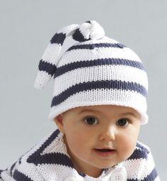 patron tricot bonnet de bébé                                                                                                                                                     Plus