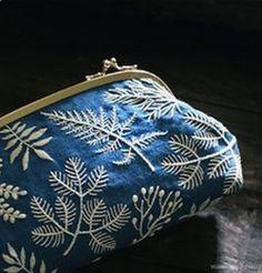 Sashiko Fabric - Butterflies and Sashiko - Sylvia Pippen Sashiko Pre-printed Fabric Kit - Japanese Embroidery, Quilting, Sewing - Embroidery Design Guide Hand Embroidery Stitches, Hand Embroidery Designs, Embroidery Art, Cross Stitch Embroidery, White Embroidery, Hand Stitching, Embroidery Supplies, Cactus Embroidery, Embroidery Services