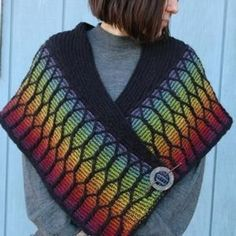 You Knit It:  Now Learn How to Wear A Shawl
