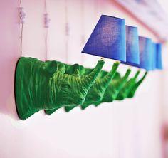 Rhino Wall Lamp chic and unique home decor