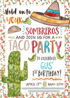 Taco 'Bout a Party – Nela Mamas