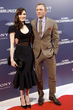 Red carpet couple: Daniel Craig and Rachel Weisz