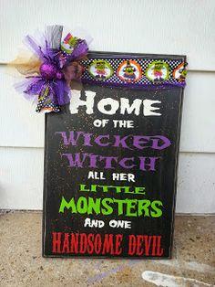 Talented Terrace Girls: Wicked Witch Board