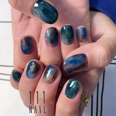 Pin by Oksana Korosteleva on Ногти in 2020 Cute Nail Polish, Cute Nails, Pretty Nails, Diy Nail Designs, Nail Polish Designs, Nail Manicure, Diy Nails, Finger Painting, Nail Arts
