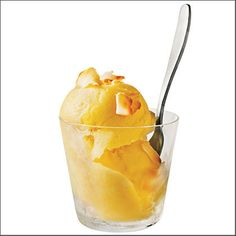 Mango-Coconut Sherbet by Cooking Light