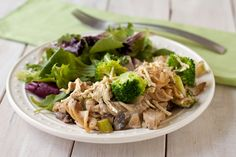 "Creamy ""chicken"" and broccoli casserole by Recipe Renovator 