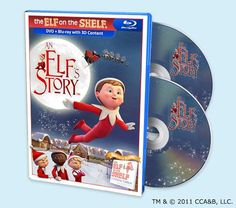 An Elf's Story™ DVD/Blu Ray Combo Set. I want to add this one to my Christmas movie collection. Snuggling on the couch, hot chocolate, warm Christmas cookies.....