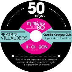Invitación 50 Años Beatriz on Behance