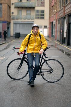 Mens K-Way Claude Classic Yellow Windcheater Waterproof Jacket £50.00