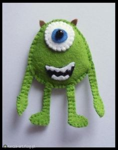 Felt Mike Wazowski _ Monsters INC