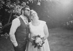 Nos mariés radieux...