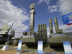 Russia on Wednesday turned to Twitter to justify its deployment of advanced S-300 anti-aircraft missile systems to Syria.           The twe...