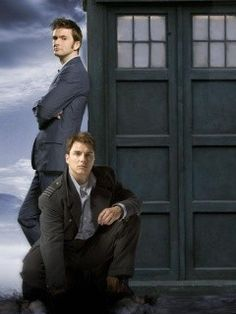 The Doctor and Capt. Jack Harkness