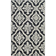 @Overstock - Add a fresh look to your home decor with a new rug Transitional rug is hand-hooked from 100-percent polypropylene Area rug displays rich shades of ivory and blackhttp://www.overstock.com/Home-Garden/Hand-hooked-Lexington-Ivory-Black-Polypropylene-Rug-3-x-5/4495082/product.html?CID=214117 $56.99