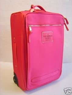 Victoria's Secret Pink Suitcase Cabin Luggage Bag