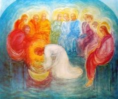 Word in pictures Rudolf Steiner, Catholic Art, Religious Art, Margarita, Jesus Art, Jesus Christ, Bible Pictures, Bible Art, Christian Art