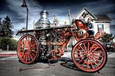 Steam power trucks, buses, and tractors