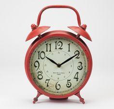 Relógio de Mesa Vermelho | A Loja do Gato Preto | #alojadogatopreto | #shoponline | referência 74066965