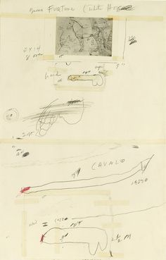 Cy Twombly, Lover of Beauty, 1961.