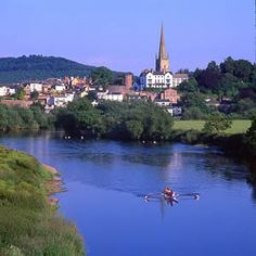 Ross on the Wye - Herefordshire - - (my first employment at the Royal Hotel Great Places, Places Ive Been, Places To Travel, Places To Go, Forest Of Dean, Uk Holidays, Herefordshire, Home And Away, Staycation