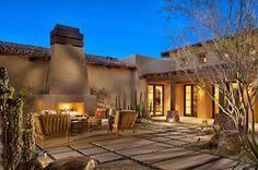ESTILO RUSTICO: Villa Rustica Nuevo Mexico