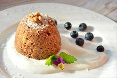 Banánový mugcake :: Solnickavkuchyni Pudding, Mugs, Cake, Food, Custard Pudding, Tumblers, Kuchen, Essen, Puddings