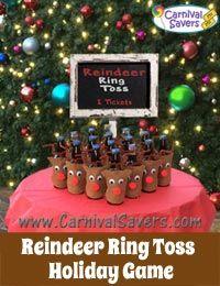 Reindeer Ring Toss Game