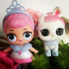 Crystal Queen and her pet Crystal Bunny #lol #lolsurprise #surprise #lolsurpriseglitter #lolsurprisepets #pet #pets #doll #dolls #loldoll #loldolls #collectlol #collectlolsurprise #dollcollector #dollphotography #dollcollection #crown #crystal #crystalqueen #crystalbunny #bunny #queen #glitter #glittery #pink #white #flowers #friday #january #5january