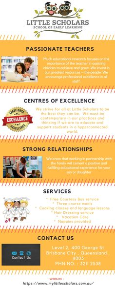 Welcome to our Little Scholars School of Early Learning website. My last 18 years of hands on experience in the Early Childhood and Education sector has allowed me to create something special, Little Scholars School of Early Learning. Learning Centers, Early Learning, Childcare, Early Childhood, We The People, Investing, Preschool, Encouragement, Passion