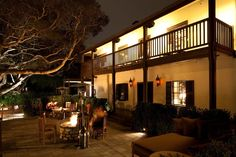 Outside Spaces - Restaurant 1833. Monterey
