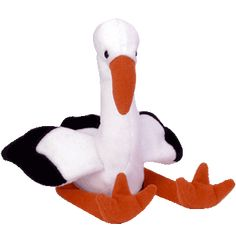 948c3823880 Ty Beanie Babies Bird Stilts The Stork Retired. (I had this one and Dana