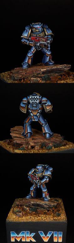 Tactical Space Marine. Mk VII.