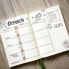 10 idées de page Monthly log pour votre bullet journal !
