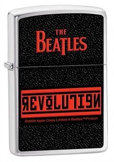 Zippo The Beatles Revolution Pocket Lighter (Black, 5 1/2 x 3 1/2 cm) by Zippo. $18.00. Beatles Revolution Zippo. Save 40%!