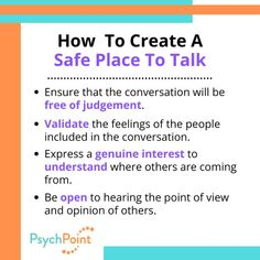 Mental Health Support, Conflict Resolution, Point Of View, Safe Place, Worksheets, Relationship, Feelings, Learning, Studying