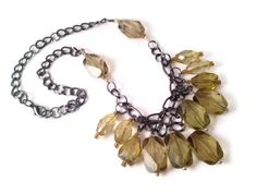 A personal favorite from my Etsy shop https://www.etsy.com/listing/160311623/olive-necklace-holiday-necklace-chunky