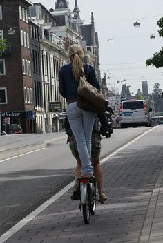 Amsterdam's bikes by Florence Rocher, via Flickr