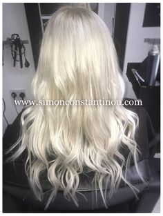 Achieve your Blonde Ambition! Call 02920461191 for Cardiff's hair colour specialists ✨ #simonconstantinou #hairdresserscardiff #iceblonde #blondehair #blonde