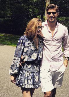 Pinterest: DEBORAHPRAHA ♥️ Olivia Palermo and Johannes #oliviapalermo #style