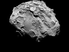Núcleo del cometa Churyumov-Gerasimenko | http://www.cienciakanija.com