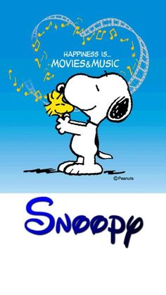 Snoopy and Woodstock - Happiness Is Movies and Music