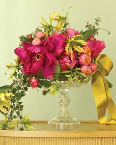 Beautiful pinks and golds